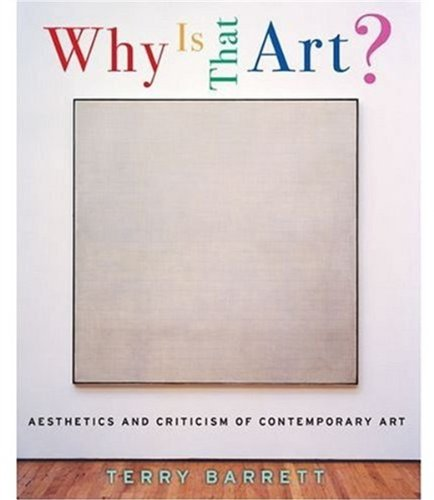 9780195167429: Why Is That Art?: Aesthetics and Criticism of Contemporary Art