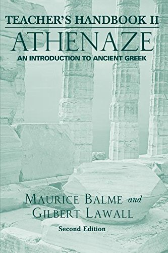 9780195168099: Athenaze Book 2 Teachers Handbook Second Edition