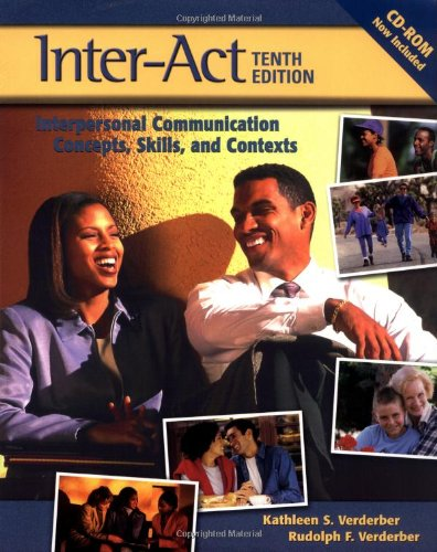 9780195168471: Inter-Act: Interpersonal Communication Concepts, Skills, and Contexts
