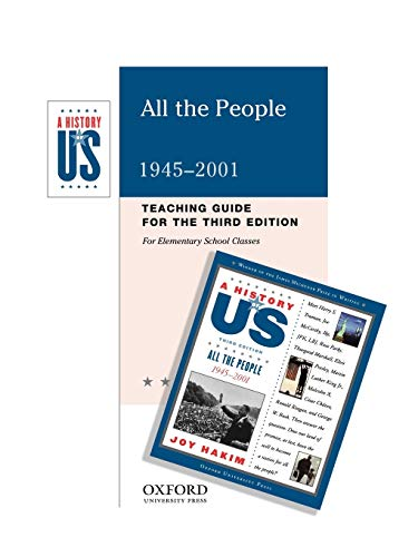 9780195168570: All the People: Elementary Grades Teaching Guide A History of US Book 10