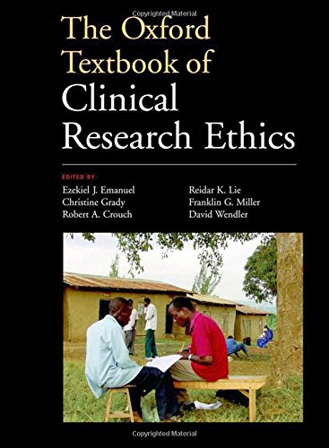 9780195168655: The Oxford Textbook of Clinical Research Ethics