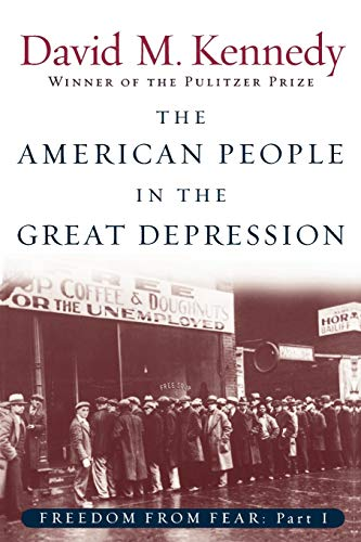 9780195168921: The American People in the Great Depression: Freedom from Fear, Part One (Oxford History of the United States (Paperback))