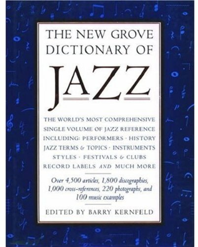 9780195169096: The New Grove Dictionary of Jazz