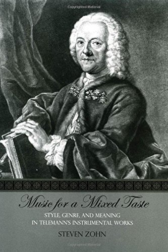 9780195169775: Music for a Mixed Taste: Style, Genre, and Meaning in Telemann's Instrumental Works