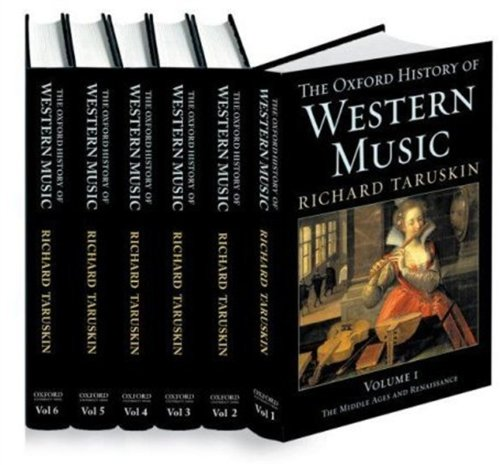 9780195169799: The Oxford History of Western Music (6 Volume Set)