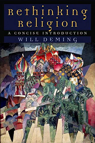 9780195169812: Rethinking Religion: A Concise Introduction