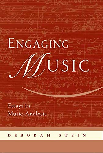 9780195170108: Engaging Music: Essays in Music Analysis