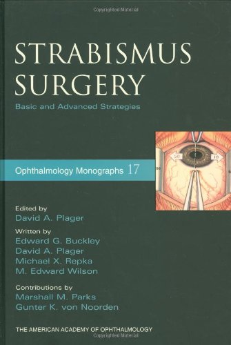 9780195170238: Strabismus Surgery: Basic and Advanced Strategies (American Academy of Ophthalmology Monograph Series)