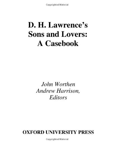 9780195170405: D. H. Lawrence's Sons and Lovers: A Casebook (Casebooks in Criticism)