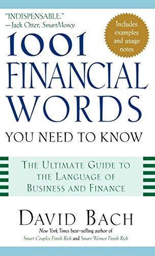 9780195170504: 1001 Financial Words You Need to Know