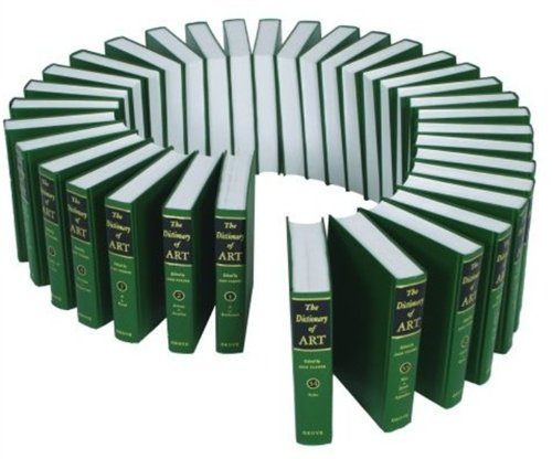 9780195170689: The Grove Dictionary of Art: 34 Volumes