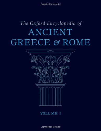 9780195170726: The Oxford Encyclopedia of Ancient Greece and Rome: 7-Volume Set