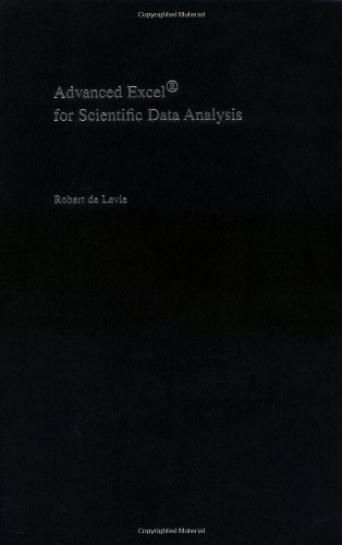 9780195170894: Advanced Excel for Scientific Data Analysis