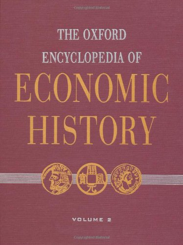 9780195170917: The Oxford Encyclopedia of Economic History