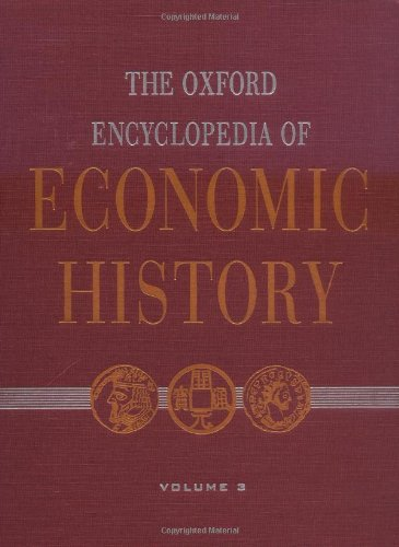 9780195170924: The Oxford Encyclopedia of Economic History (Volume 3)