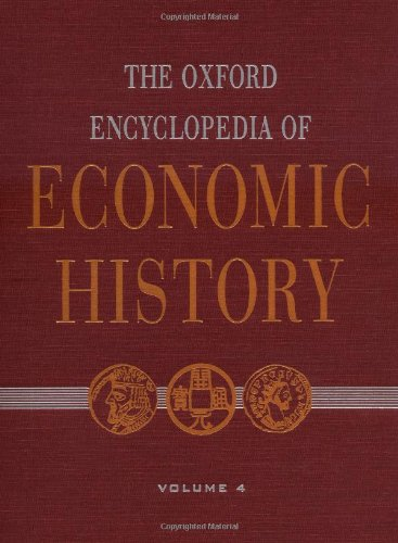 9780195170931: The Oxford Encyclopedia of Economic History
