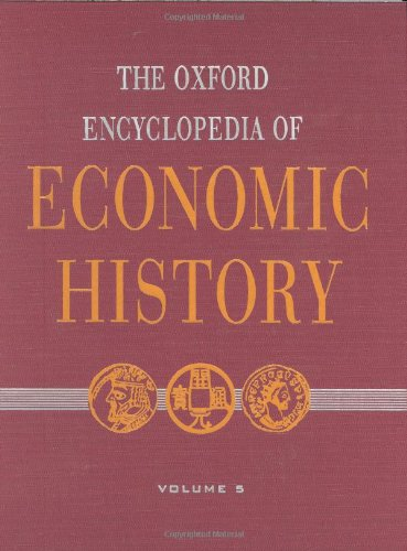 9780195170948: The Oxford Encyclopedia of Economic History