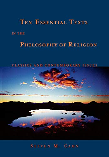 9780195171006: Ten Essential Texts in the Philosophy of Religion: Classics and Contemporary Issues