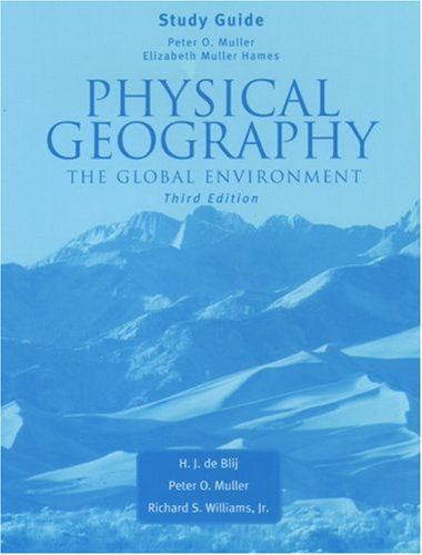 9780195171143: Physical Geography: The Global Environment Study Guide