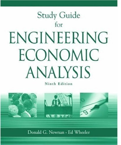 9780195171495: Study Guide for Engineering Economic Analysis