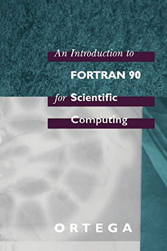 9780195172133: An Introduction to Fortran 90 for Scientific Computing