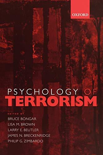 9780195172492: Psychology of Terrorism