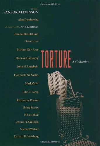 9780195172898: Torture: A Collection