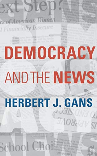 9780195173277: Democracy and the News