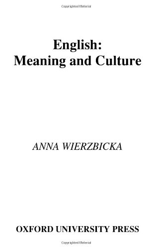 9780195174748: English: Meaning and Culture