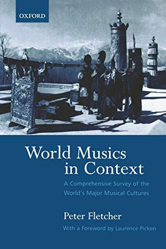 9780195175073: World Musics in Context: A Comprehensive Survey of the World's Major Musical Cultures