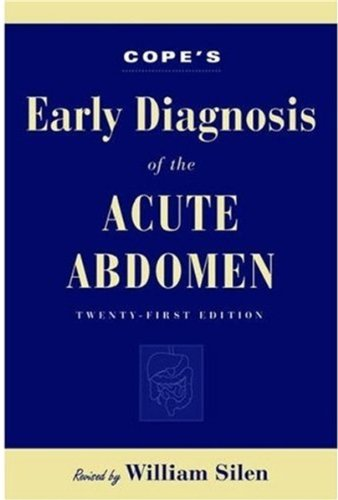9780195175462: Cope's Early Diagnosis of the Acute Abdomen