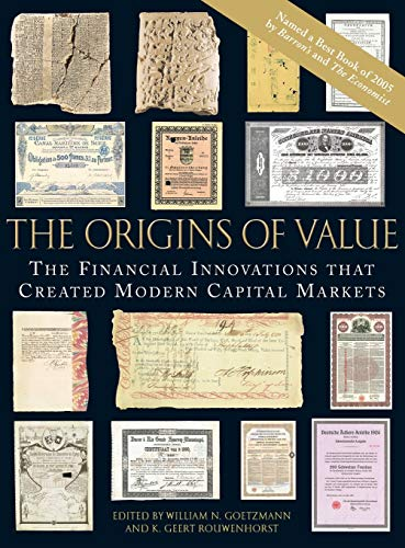 9780195175714: The Origins of Value: The Financial Innovations that Created Modern Capital Markets