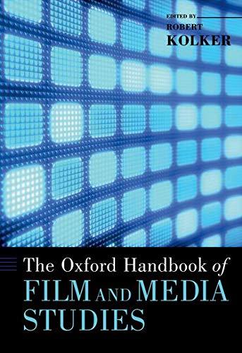 9780195175967: The Oxford Handbook of Film and Media Studies (Oxford Handbooks)