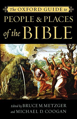 9780195176100: The Oxford Guide to People & Places of the Bible