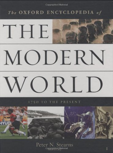 9780195176322: Oxford Encyclopedia of the Modern World: 1750 to the Present