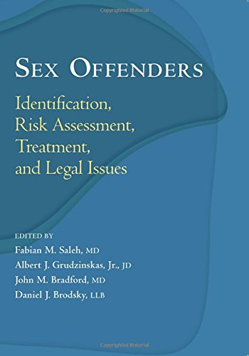 9780195177046: Sex Offenders: Identification, Risk Assessment, Treatment, and Legal Issues