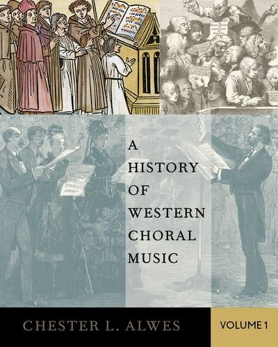 9780195177428: A History of Western Choral Music, Volume 1