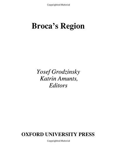 9780195177640: Broca's Region