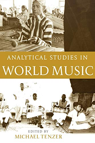 9780195177893: Analytical Studies in World Music