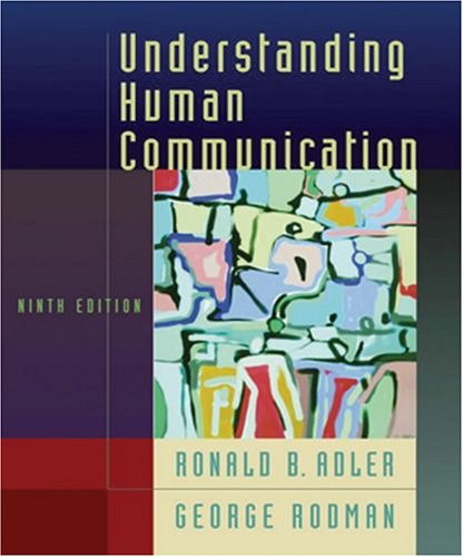 9780195178333: Understanding Human Communication