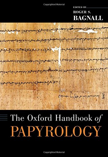 9780195178388: The Oxford Handbook of Papyrology