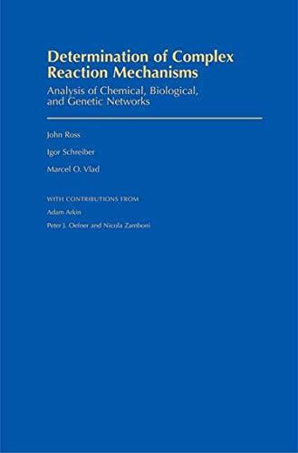 Determination of Complex Reaction Mechanisms: Analysis of: John Ross; Igor