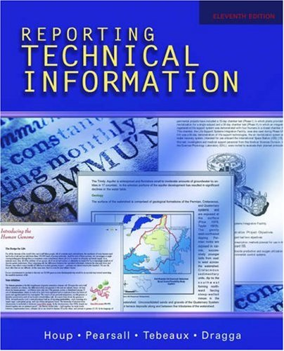 9780195178791: Reporting Technical Information
