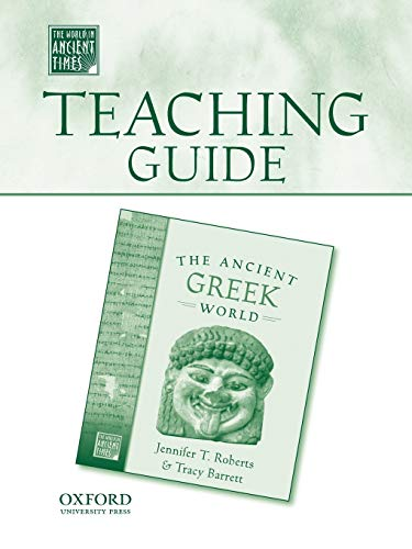 9780195178944: Teaching Guide to The Ancient Greek World (The World in Ancient Times)