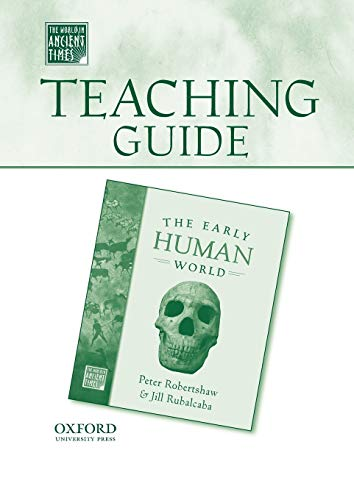 9780195178975: Teaching Guide to The Early Human World (The World in Ancient Times)