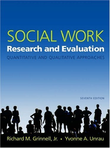 9780195179491: Social Work Research and Evaluation: Quantitative and Qualitative Approaches