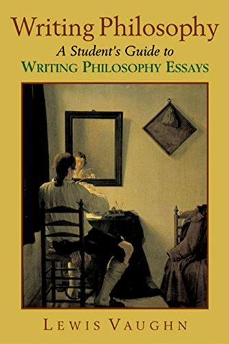 9780195179569: Writing Philosophy: A Student's Guide to Writing Philosophy Essays