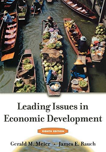 9780195179606: Leading Issues in Economic Development