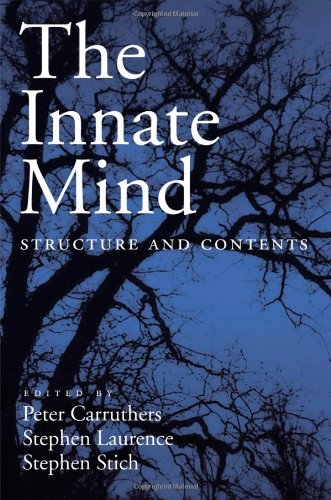 9780195179675: The Innate Mind: Structure and Contents (EVOLUTION COGNITION SERIES EVC)