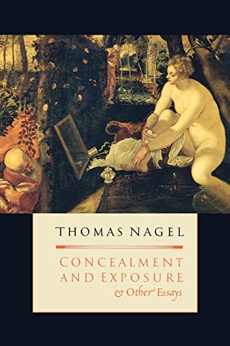 9780195179774: Concealment and Exposure: And Other Essays